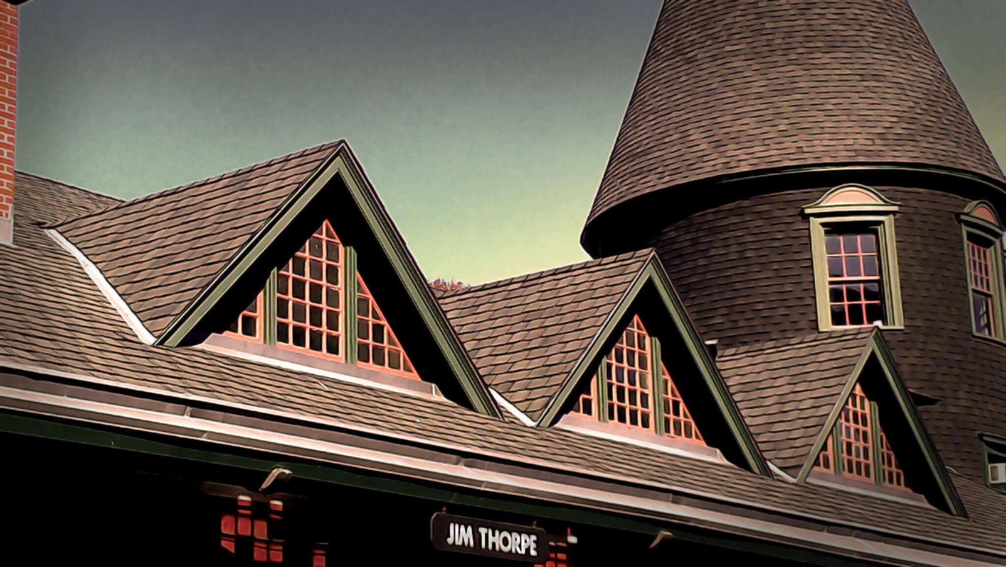 image of Jim Thorpe, PA train station