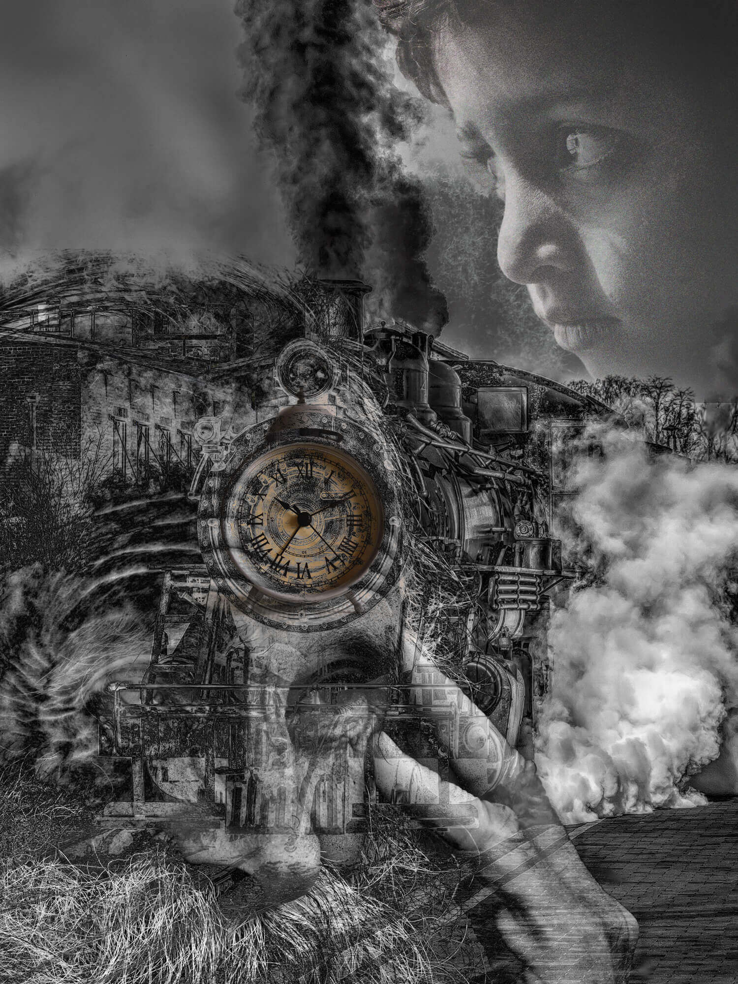 "image of digital composition titled ""Life"""