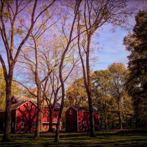image of a Pennsylvania red barn by Deborah Nyman